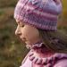 Cherry Tale scarf pattern