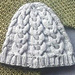 """Cabled beanie """"Philipp"""" pattern"""