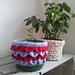 Shiny Happy Plant Pot Holder pattern