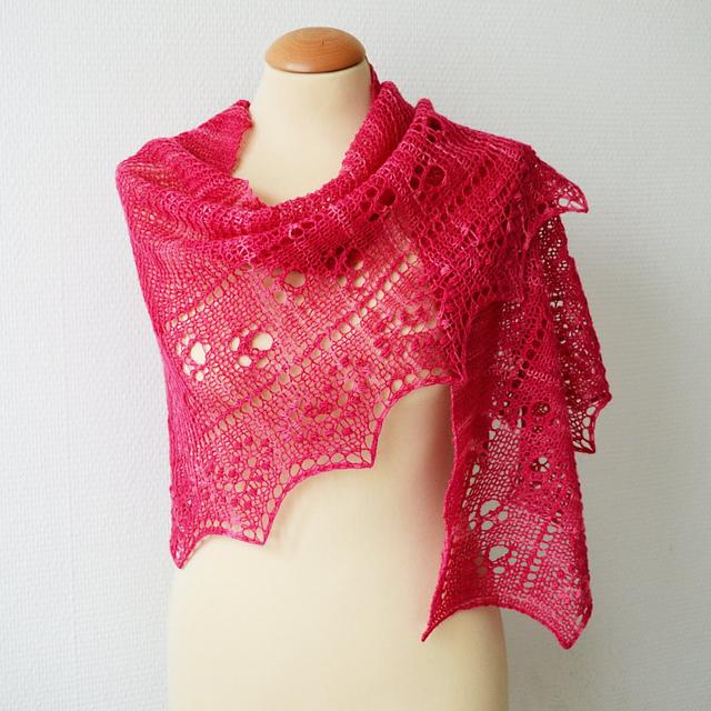 Equilibrium Modern Cats Pattern Printed Ladies Scarf Shawl Wrap Pink 59811