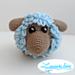 Frizou le mouton - Les petits laineux pattern