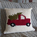 Vintage Tree Truck Pillow pattern
