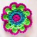 Multi Coloured Flower pattern