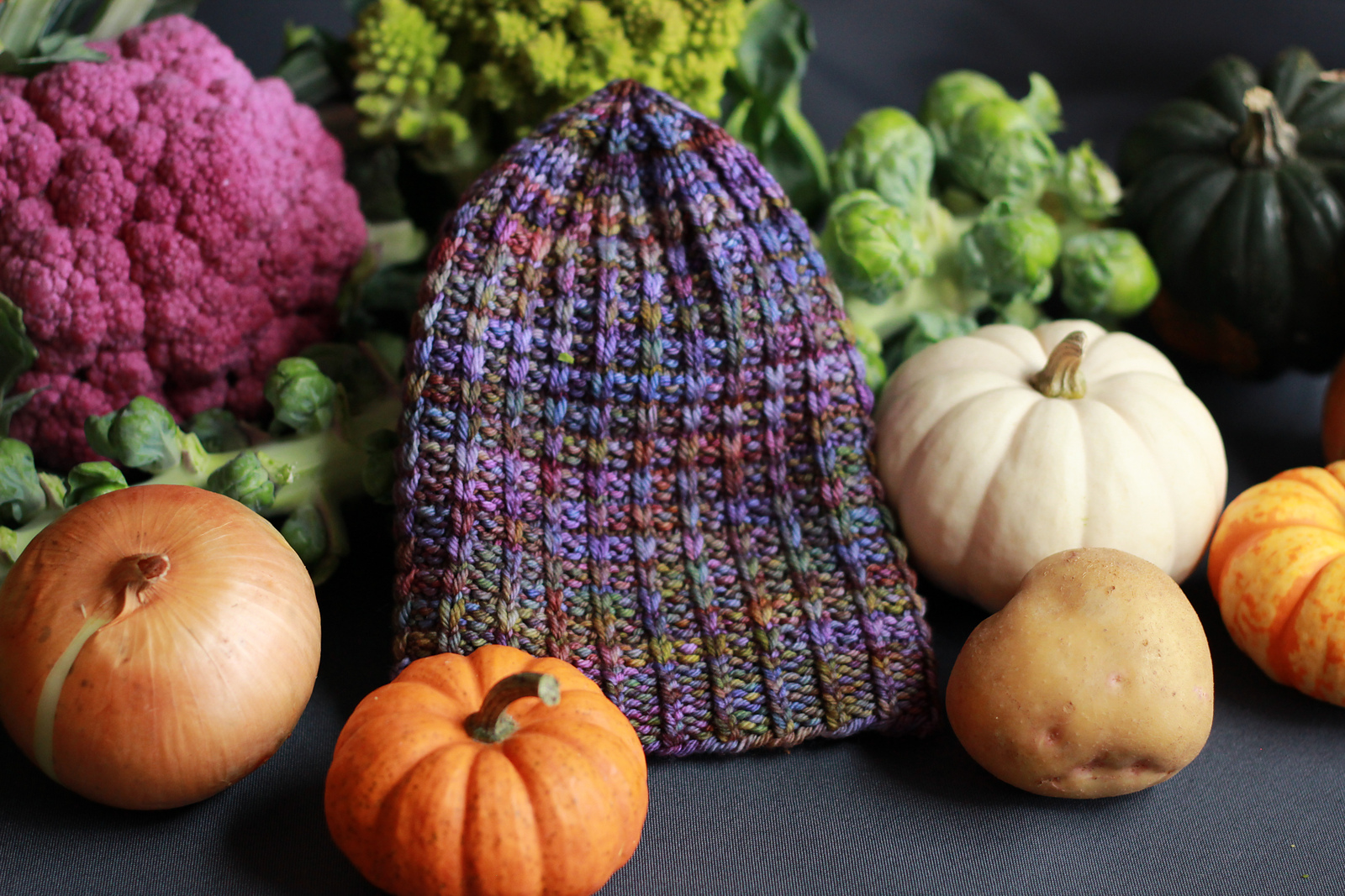 Fall Harvest Hat by Allison Janocha