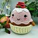 Cupcake d'amour de Maman pattern