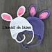 Petit Bunny hat pattern