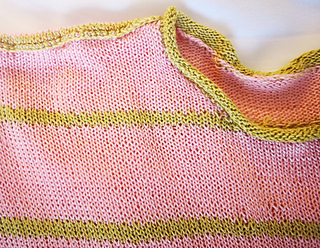 shoulder shaping and crochet seaming