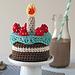 Amigurumi Birthday Cake pattern