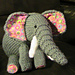 Eddie the Friendly Elephant pattern