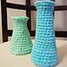 Crochet Flower Vase pattern