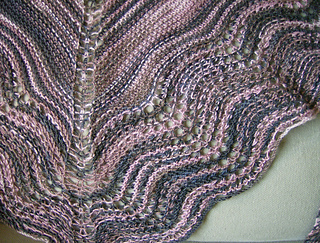 Shawl close up