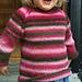 Misse's Rainbowsweater pattern