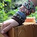 Edwardian Bead Knit Bracelet or Choker pattern