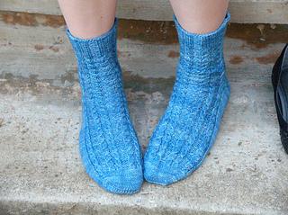 Badcaul socks finished