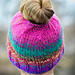 GET-UP-AND-GO Messy Bun Ponytail Hat pattern