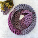 Frosted Berry Infinity Scarf pattern