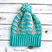 Illusions Slouch Hat pattern