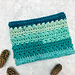 Snow Drops Chunky Cowl pattern