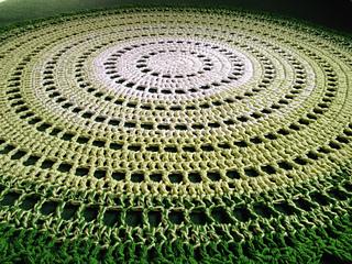 Gorgeous Mandala Floor Rug Pattern
