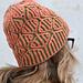 Diamonds Sparkle Hat pattern