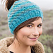 Messy Bun Knit Hat pattern