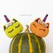Halloween pumpkin unicorn amigurumi pattern