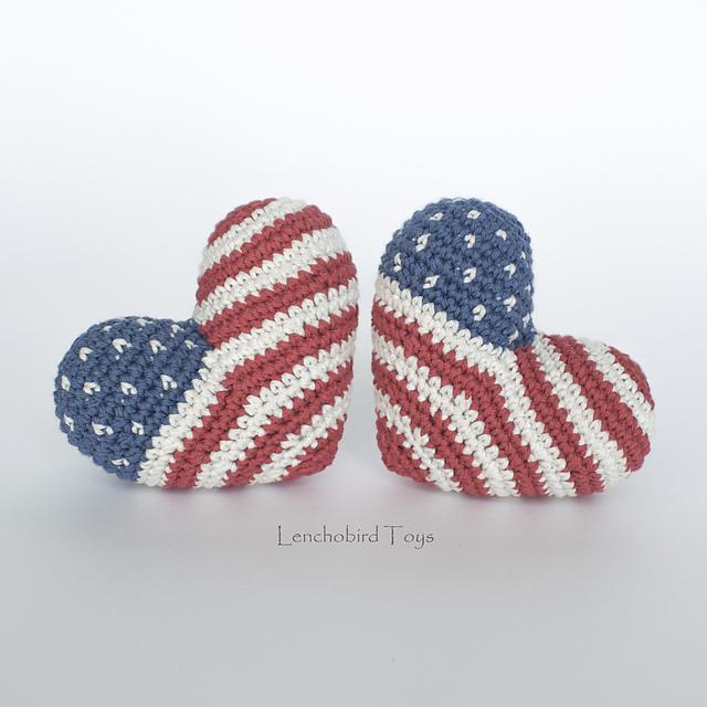 Amigurumi Crochet 3D Heart Free Patterns Perfect Valentine Gift Ideas   640x640