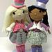Top Hat Tea Party Girls pattern