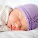 Leafy Newborn Beanie pattern
