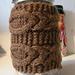 Frenchy Coffee Press Cozie pattern