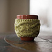 Hermine Cable Cup Cozy pattern