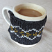 The Simple Steek Mug Cozy pattern