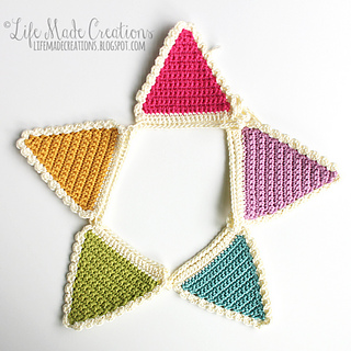 Ravelry Crochet Banner Pattern By Life Made Creations