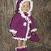 "Fur-Trimmed Doll Coat (18"" doll) pattern"