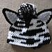 Little Zebra Hat pattern