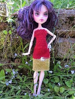 ravelry summer party dresses for monster high dolls