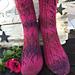 Bladranke sokk pattern