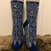 Dreamcatcher sock pattern