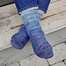Hjertego tåopp sokk pattern
