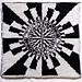 Julia Fatou Fractal Pillowcase pattern