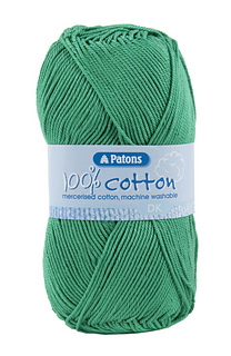 White 100/% Cotton DK 100g Ball Patons Yarn