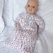 Baby Annabell Sleeping Bag pattern