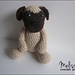 Pugsley the Pug Puppy pattern