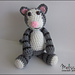 Mister the Tabby Cat pattern