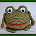 Froggy Frog pattern