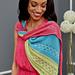 Asymmetrical Knit Shawl pattern