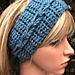 2 Braided Headbands pattern