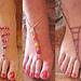 Barefoot Beaded Sandals pattern