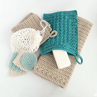 part of my complete bathroom crochet pattern set - sold separately