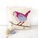 Bird Cushion pattern